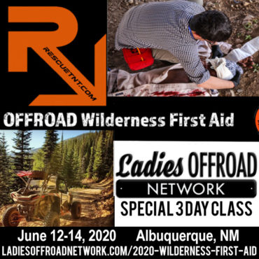 Ladies Offroad Wilderness First Aid