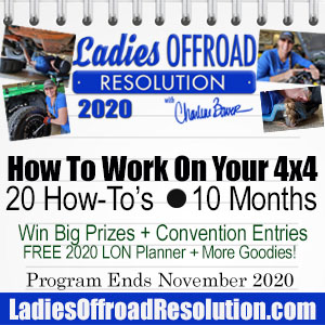 Ladies Offroad Network Resolution 2020 Nov