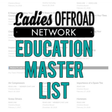Education Master List