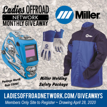 GA20 April Miller Welder Ladies Offroad Network