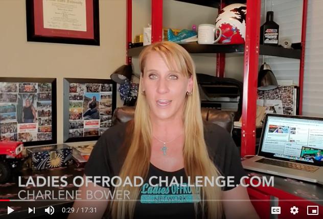 ladies offroad challenge charlene bower