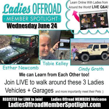 Member Spotlight ladies offroad network