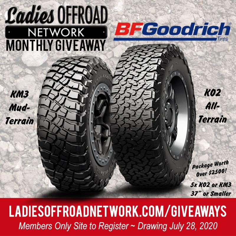 BFGoodrich Tires Giveaway