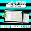 WhatsApp Discussions for Ladies Offroad Network
