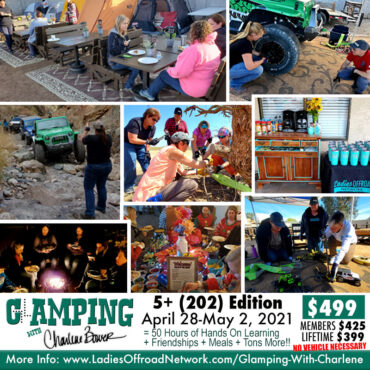 glamping with charlene