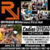 Ladies Offroad Wilderness First Aid 2021